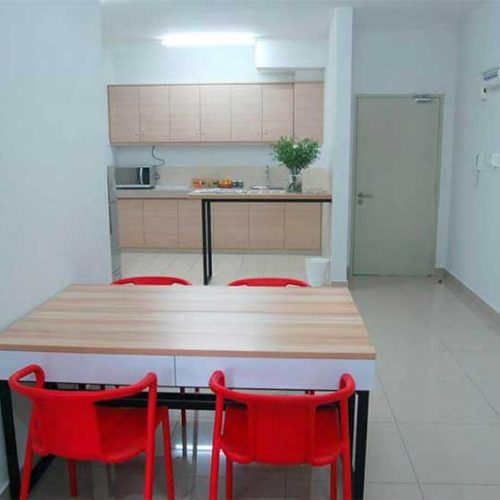 LEA English Centre Petaling Jaya Accommodation Dinning Area